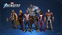 Marvel Avengers Exclusive Intel DLC (PC ONLY) ALL 6 skins (not 5 gum)