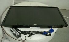 """Acer S241HL UM.FS1AA.001 24"""" LCD Monitor DVI/VGA/HDMI SEE NOTES"""