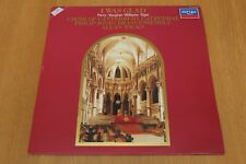 Vinyl LP - Canterbury Cathedral Choir - I Was Glad - Argo Records 411 714-1