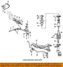 AUDI OEM 88-92 80 Quattro Lower Control Arm-Rear-Bushings 8A0407181
