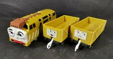 Diesel 10 with 2 Troublesome Motorised Train Trackmaster Thomas And Friends
