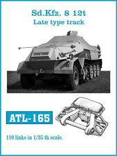 FRIULMODEL METAL SD.KFZ.8 12t LATE TYPE TRACK Scala 1/35 Cod.ATL-165