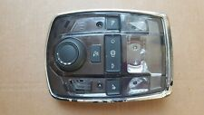 PEUGEOT 508 2.2HDI 2013 FRONT INTERIOR ROOF CONTROL PANEL LIGHT SLIDING 98033020