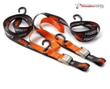 Brand New KTM Soft Ratchet Tie Downs With Hooks P/N: U6910046 Moto-X Dirt Bike