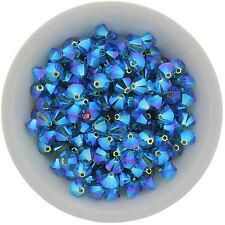 Swarovski Crystal 5328 XILION Bicones 3mm - INDICOLITE AB2X (24 PCS)