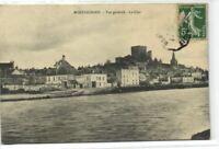 1 CPA 41 Loir et cher Montrichard Vue Generale Le Cher 1908 pcfravainc119