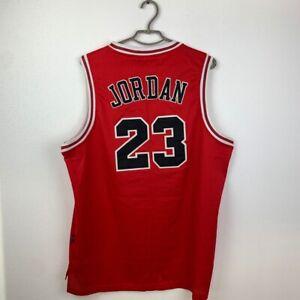 RARE VINTAGE CHICAGO BULLS BASKETBALL JERSEY #23 JORDAN NBA NIKE 2XL