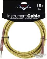 Fender Custom Shop 10ft Angled Performance Series Cable Fg10tl Tweed