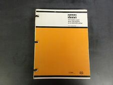 Case 475 Cable Layer with 336 Engine S/N 3058169 & After Parts Catalog B1291