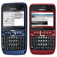 Unlocked Nokia E63 QWERTY Keypad Wifi 3G Camera 2MP Mp3 Player Mobile Bar Phone