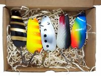pike bait  bass lure gift idea  perch tackle Fishing spoon handmade in europe