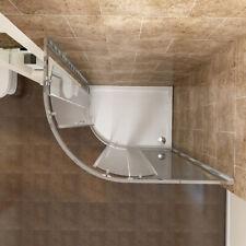 Walk In Quadrant Shower Enclosure Corner Cubicle Glass Door Stone Tray Waste