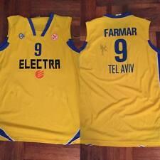 Jordan Farmar Autograph Signed Maccabi Electra Tel Aviv Jersey Lakers Nets NBA