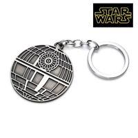 STAR WARS DEATH STAR Figurine FULL metal replica keychain Key chain collectible