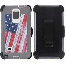 For Samsung Galaxy Note 4 Defender Cover Case w/ Screen & Clip Fit Otterbox USA