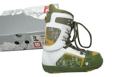NEW $220 Burton Hail Snowboard Boots!  US 7, UK 6, Mondo 25, Euro 40  GREEN