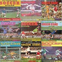 My Favourite Soccer Stars 1970s Footballers Football Player Single Cards Various