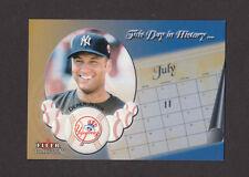 2004 Fleer Tradition Update This Day in History #U24 DEREK JETER Yankees NRMT