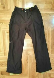 Columbia Convert Ski Pants Women Sz.M Brown Snowboard Waterproof W30 L30 Tex