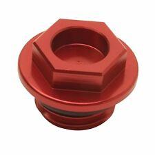 Tusk Billet Oil Plug Cap Red CR125R CR250R CRF250R CRF450R CRF230F CRF150R