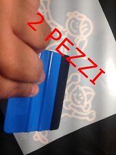 2 PZ Spatola professionale con feltro pellicola CARBONIO adesivo CAR WRAPPING
