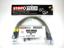 Stoptech Stainless Steel Front Brake Lines For 01-05 Lexus Is300 / 02-07 Sc430