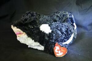 TY Jonah Black Killer Whale Plush Toy Cuddly Stuffed Animal Toys Gift Doll Dolls