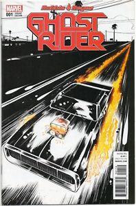 Ghost Rider #1 / Retailer Variant Cover / Robbie Reyes / Marvel Comics 2016 NM