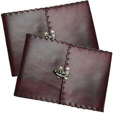 """2nds QUALITY 11"""" Vera Pelle Handmade Vintage Diario Sketchbook"""