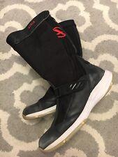 Aigle Actimum Racer Goretex Gtx Leather Boots Mens Size 43 US 9 1/4 Black GUC A4