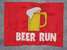 Custom BEER RUN Flag 4 ATV UTV dirtbike Jeep Dune Whip Pole