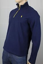Ralph Lauren Performance Navy Blue Fleece Jacket Half Zip NWT
