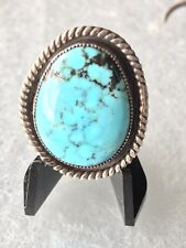 Vintage Turquoise Ring Size 10.5