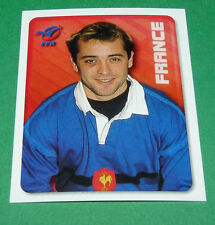 N°128 CASTAIGNEDE XV FRANCE MERLIN IRB RUGBY WORLD CUP 1999 PANINI COUPE MONDE
