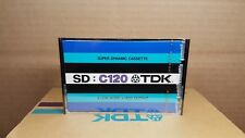 TDK SD : C120 : 1973 : MADE IN JAPAN : NEW & SEALED