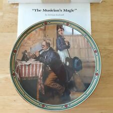 The Musician's Magic Norman Rockwell collectors plate American Dream series