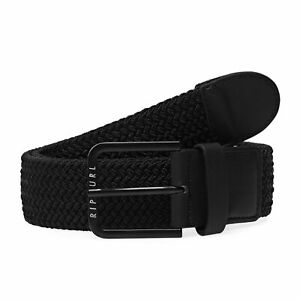 Rip Curl Hope Rope Mens Belt Synthetic - Black One Size