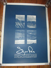 2007 SIGUR ROS MySpace Secret Show 18 x 24 Poster Vista LA Artist Proof Signed