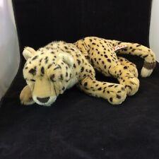 oys R Us FAO Schwarz Cheetah Leopard Plush Stuffed Animal Jungle Cat