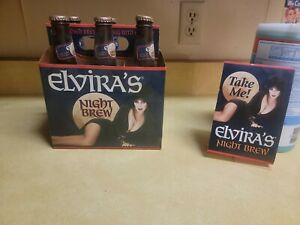 EMPTY elvira night brew set 1996 vintage