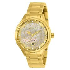 Invicta Women's Angel 27434 38mm White Dial Stainless Steel Watch
