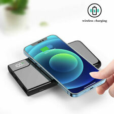 900000mAh Qi Wireless Usb Power Bank Fast Charging External Battery Charger
