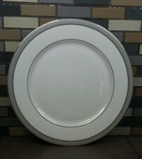 New With Tags Mikasa L3428 / 201 Platinum Crown Dinner Plate