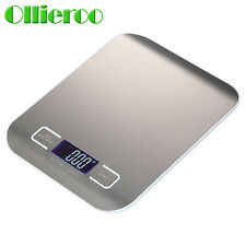 Ollieroo 5KG/1G Digital Kitchen Weight Scale LCD Electronic Diet Food Device USA
