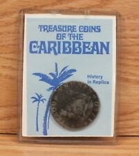 Treasure Replica Coin of the Caribbean Spanish Milled Dollar 1760 **READ**
