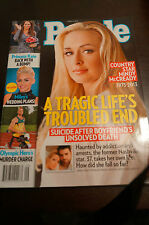 PEOPLE Mindy McCready, Oscar Pistorius, Miley Cyrus, Clive Davis - March 4, 2013