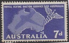1958 (P193) Australia 7D Blue flying Doctors SG297