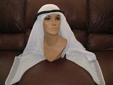 Egyptian Cotton Arabic Keffiyeh Scarf Middle Eastern Shaal & Ekhal Head wear