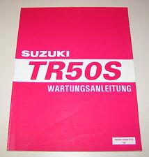Werkstatthandbuch Suzuki TR 50 S - Stand 1998!