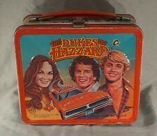Original 1980 The Dukes Of Hazzard Metal Lunch Box By Aladdin Nice!